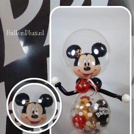 Cadeau - Kado Ballon  ;- Mickey Mouse  ; -Happy Birthday -  € /geld ; ;origineel verpakken!Erg leuk om te geven, en een feestje om te krijgen!Suc6 verzekerd. Van BallonPlus.nl