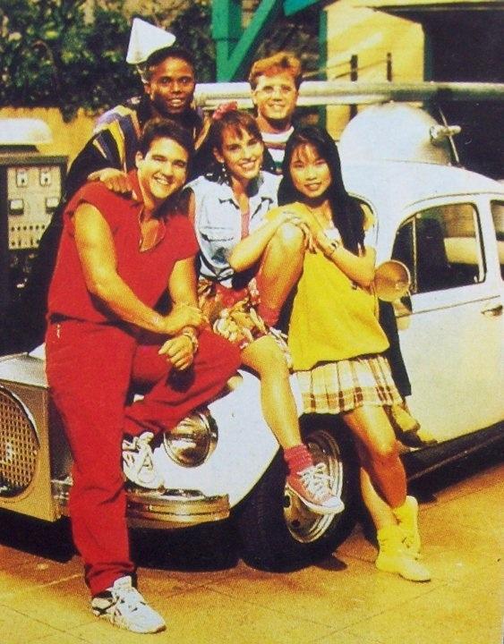 The original Power Rangers!