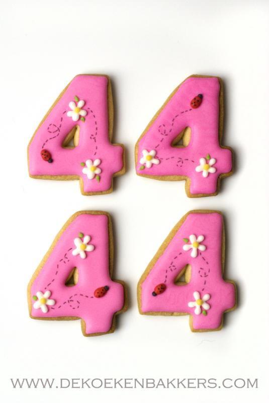 Traktatie 4 jaar koekjes