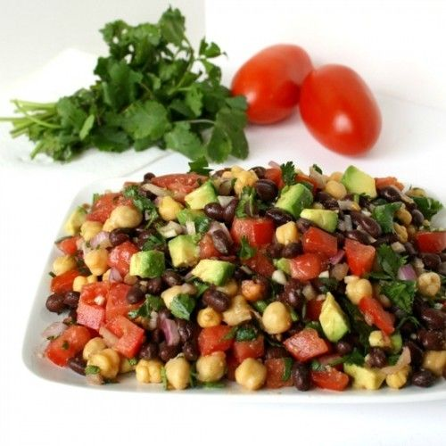 Fiesta Bean Salad Recipe