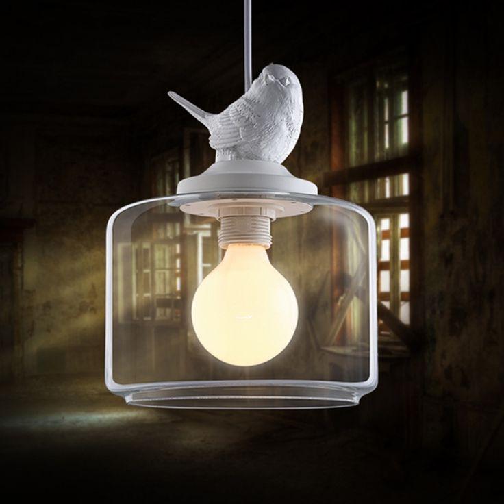 Ucuz Endüstriyel vintage kolye ışık orijinal kuş E27 clear cam kolye işıklar loft bar lambaları, Satın Kalite kolye ışıkları doğrudan Çin Tedarikçilerden: başlangıçModern led kolye ışıkları yemek odası mutfak...Fiyat:$84.76Uzaktan kumanda oturma odası yatak odası modern led