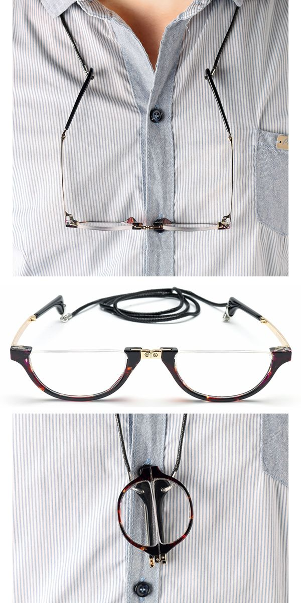 304abfa7022  52%OFF  Mens Womens Hanging Neck Reading Glasses  Folding Presbyopic  Glasses  outfits  style  reading  books