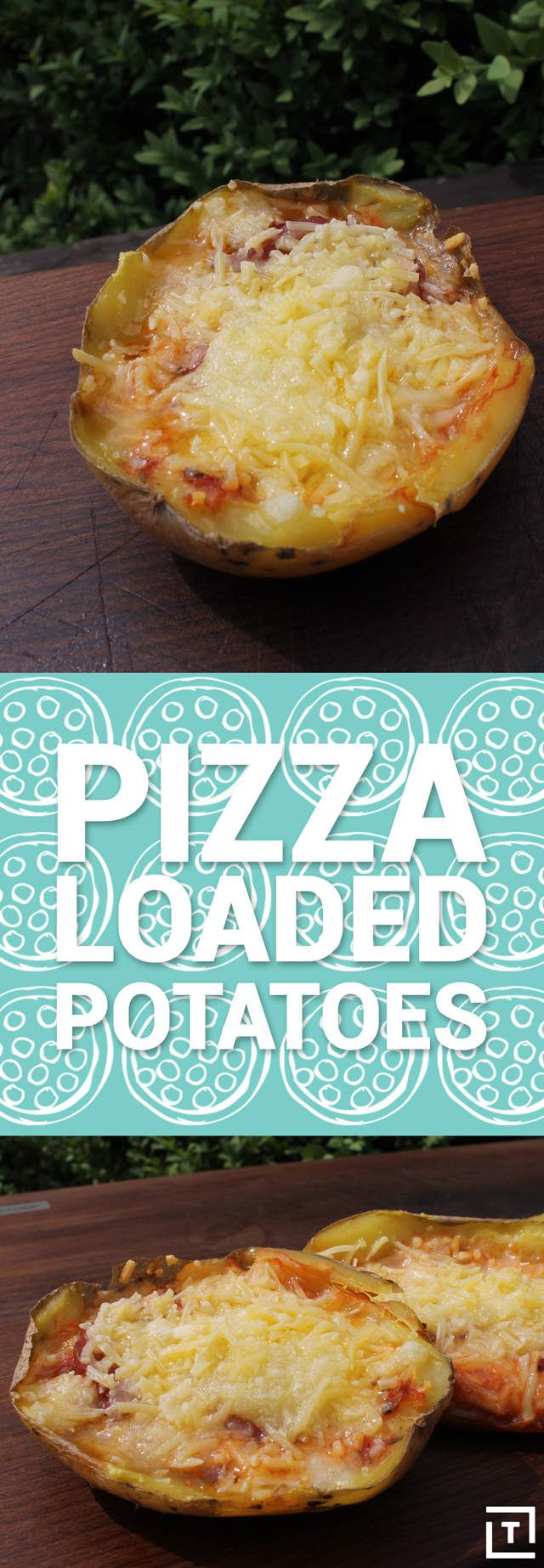 Pizza-Loaded Potatoes Will Expand Your Pizza Horizons