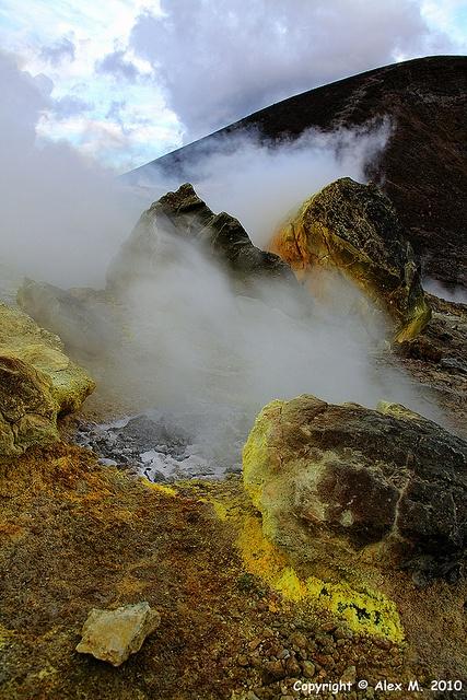 Isole Eolie: Vulcano , Sicilia
