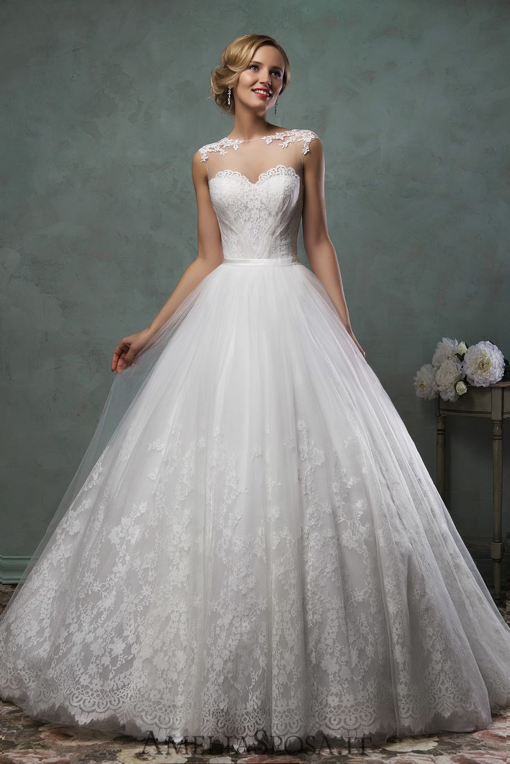 Wedding Dress Valery, Silhouette: A-line, Ball Gown