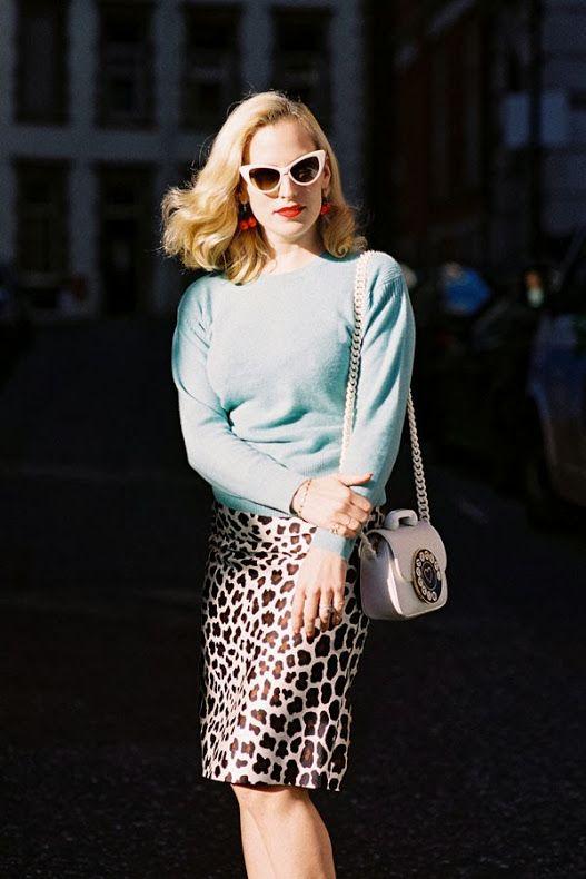 London Fashion Week AW 2014....Charlotte - Vanessa Jackman