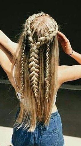 Amazing hair style.