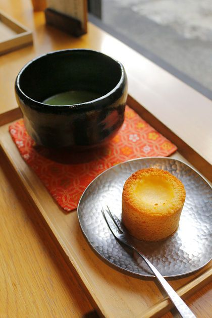 Matcha Green Tea with Sweets | Cafe in Kyoto, Japan