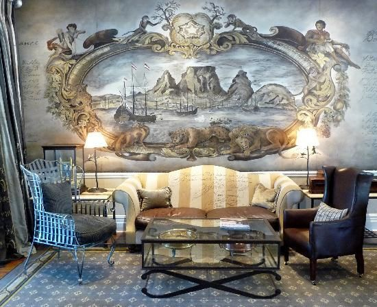 Wall Murals Are Hand Painted. Wow! Part 57