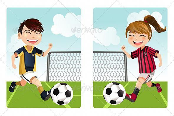 Tips And Tricks To Play A Great Game Of Football Kids Playing Football Girls Playing Football Girl Playing Soccer