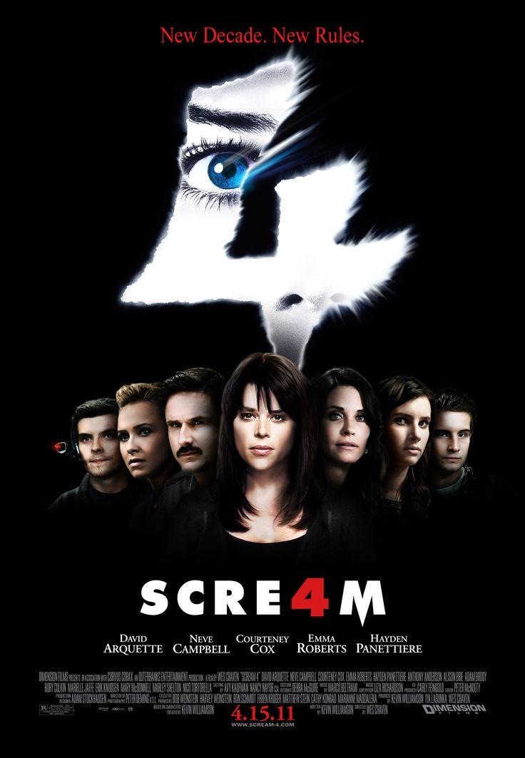 Scream 4   Scream 4   Camille Espresso ou L'horreur post-moderne