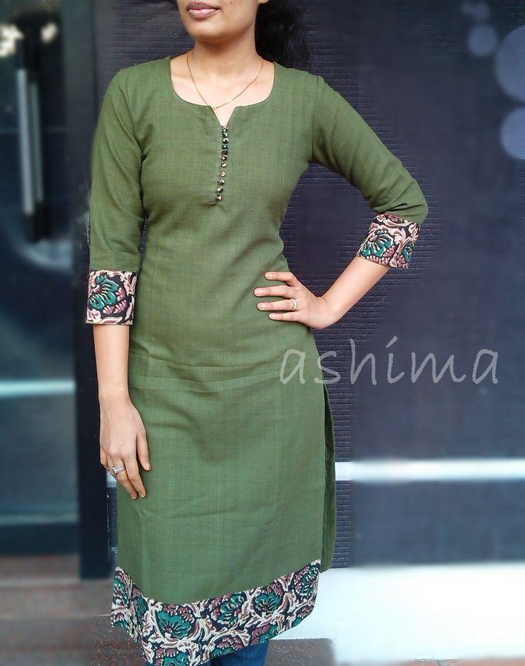 Code:1703160-Khadi Cotton Kurta- Price INR:890/-