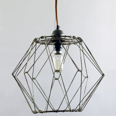 wire pendant light with nostalgic edison style 40w thread light bulb. Black Bedroom Furniture Sets. Home Design Ideas