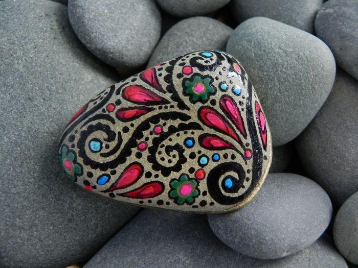 56 besten Kreativ Mit Steinen Bilder auf Pinterest Kieselsteine - ideen mit steinen