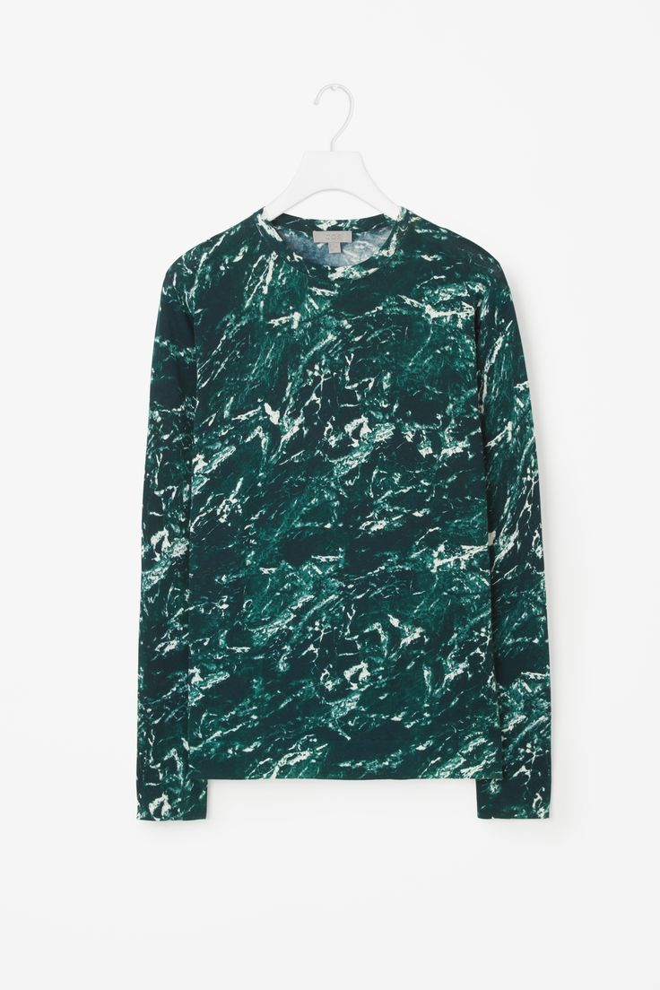 COS | Patterned round neck jumper
