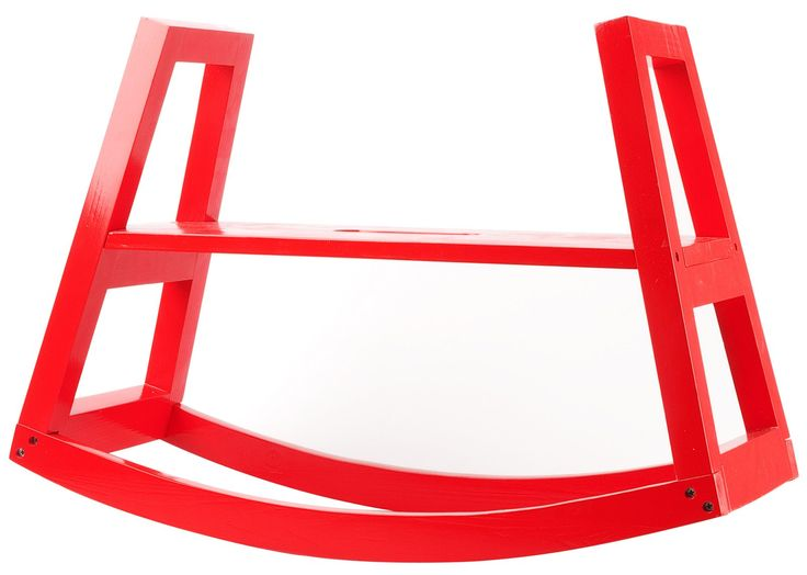J.I.P Rocking Bench Wood Red, Design Daniel White   Best Price Amazing Pictures