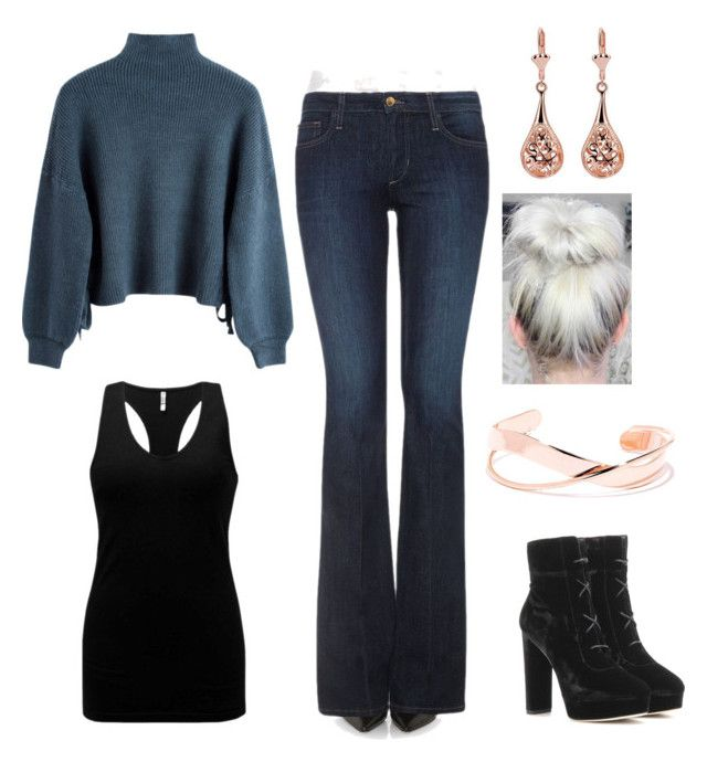 """""""#1"""" by kixkeen on Polyvore featuring Joe's Jeans, Jimmy Choo and BKE"""
