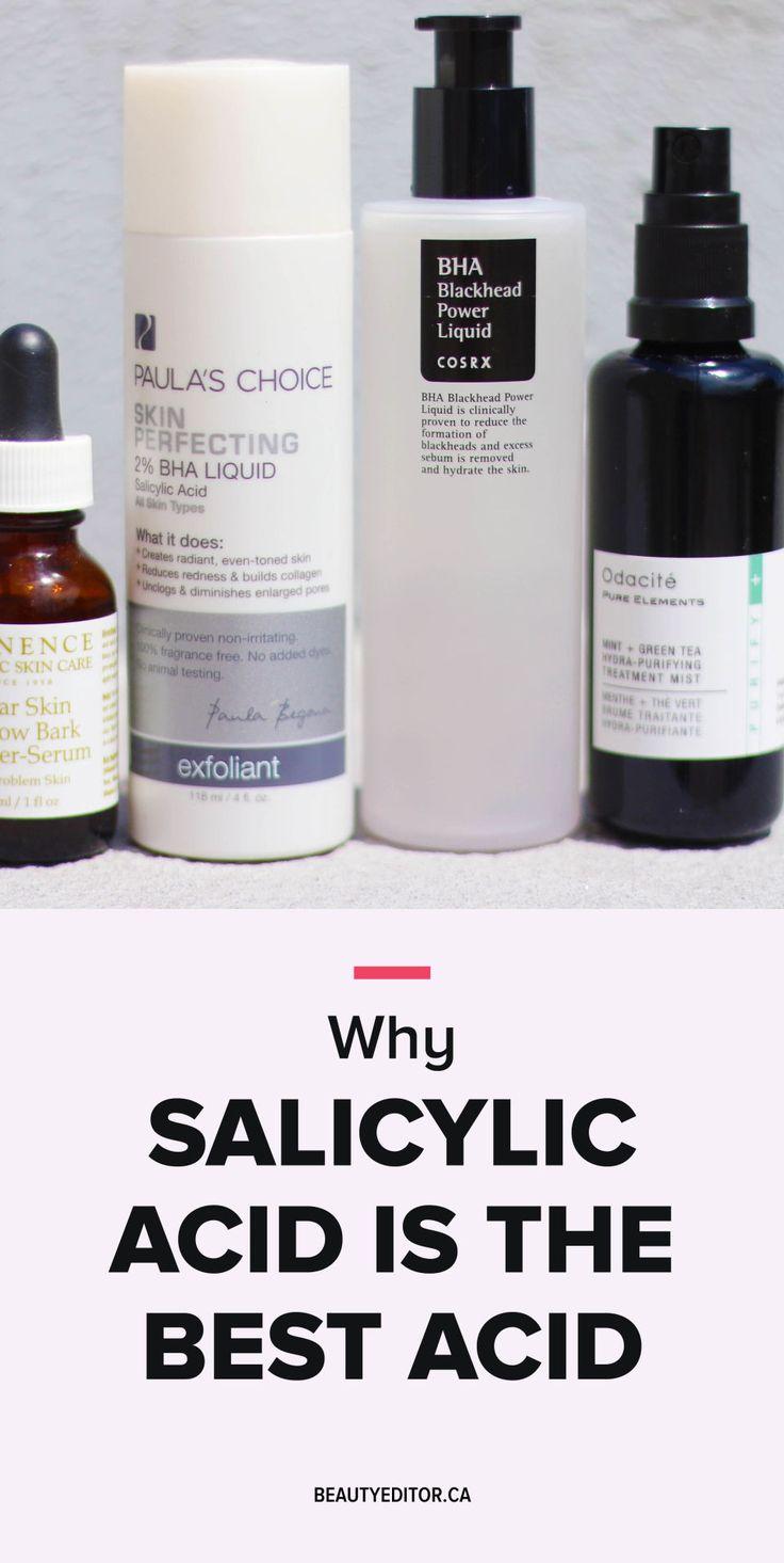Why salicylic acid is the best acid