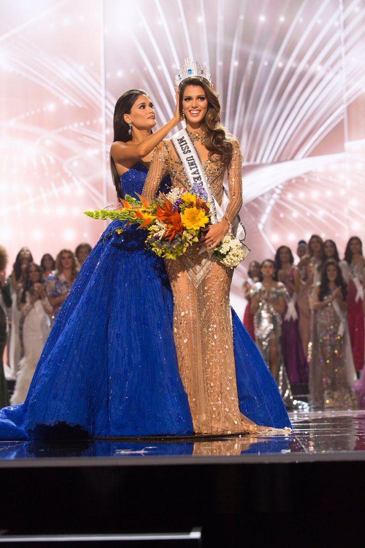 Iris Mittenaere sacrée Miss Univers à Manille