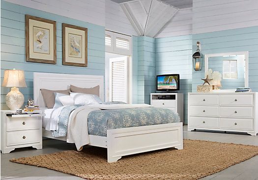 Belcourt White 7 Pc King Panel Bedroom. $1,249.99.  Find affordable King Bedroom Sets for your home that will complement the rest of your furniture.