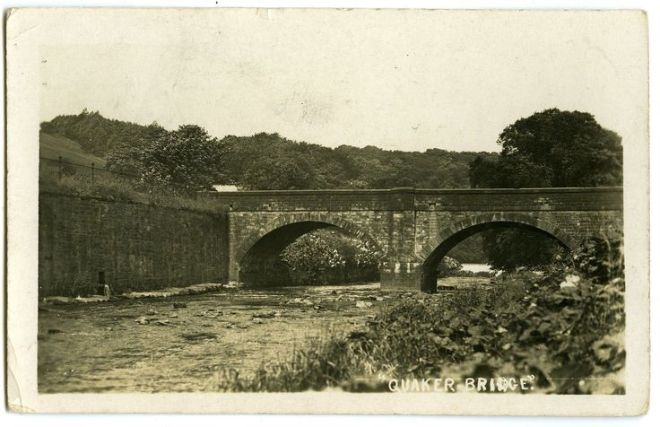 BRIERFIELD VILLAGE QUAKER BRIDGE PENDLE LANCASHIRE RP POSTCARD 'BRIER SERIES[413 | eBay