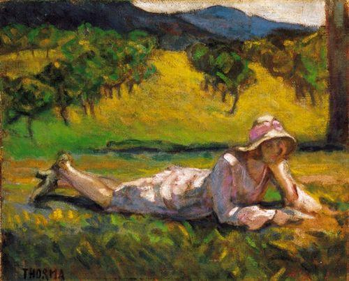Meadow , Janos Thorma. Hungarian (1870 – 1937)