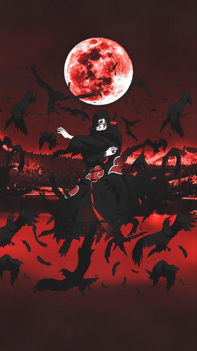 Itachi Uchiha Anime Background Naruto Wallpaper Anime Wallpaper