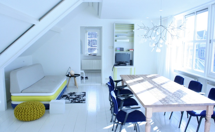 Hotel Droog Amsterdam - Living room