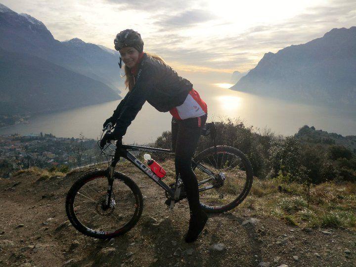 #Mountain biking @- Lake #Garda  #Gardasee