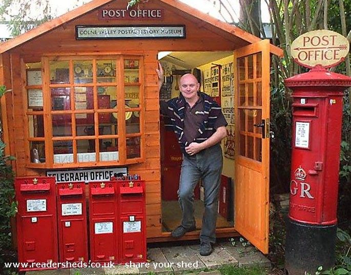 Colne Valley postal museum.