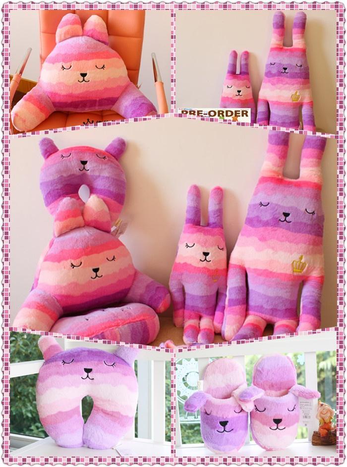 Basic Berry Princess Design Craft -  Big ($33.90) 85cmx32cm  Teen ($20.90) 55cmx28cm  Slippers ($14.90) Size US: 7-9 Europe 37-40  Lumber Pillow ($18.90) 52cm X 28cm [Measurement Without Ears]  U-Neck Pillow ($14.90) 29cm X 28cm [Measurement Without Ears] #craftholic #craftholicinsingapore #craftholicprice