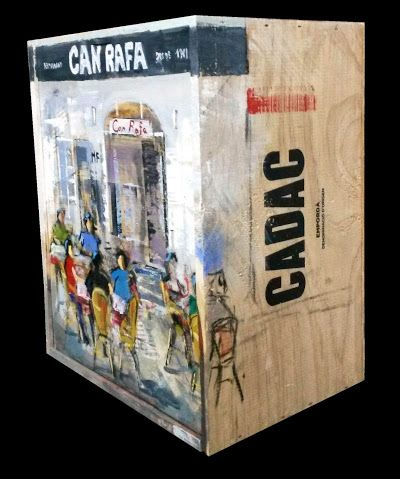 SIDE OF THE BOX.  LATERAL DE LA CAIXA. Сторона коробки. 方盒子。 箱の側面。