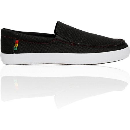 Vans Bali Black & Rasta Shoe $35