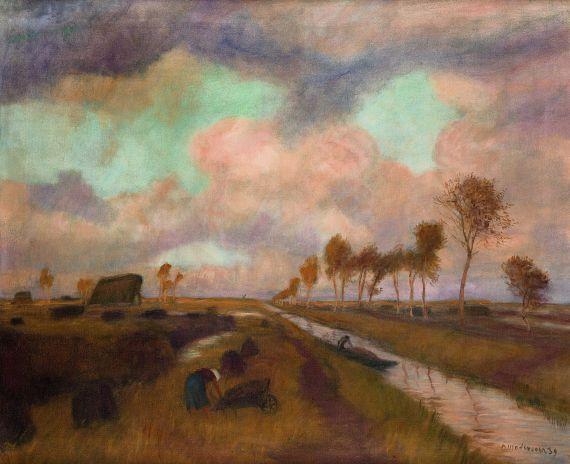 Modersohn, Otto - Moorlandschaft, 1939.