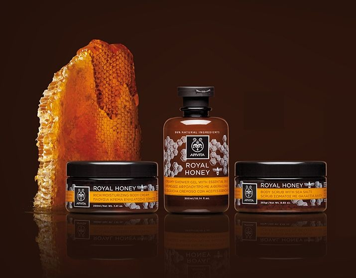 Smells like #honey!  #APIVITA #bodycare line #RoyalHoney that promises to #nourish ur #body & #rejuvenate ur #senses! #bodycare Read more at www.apivita.com