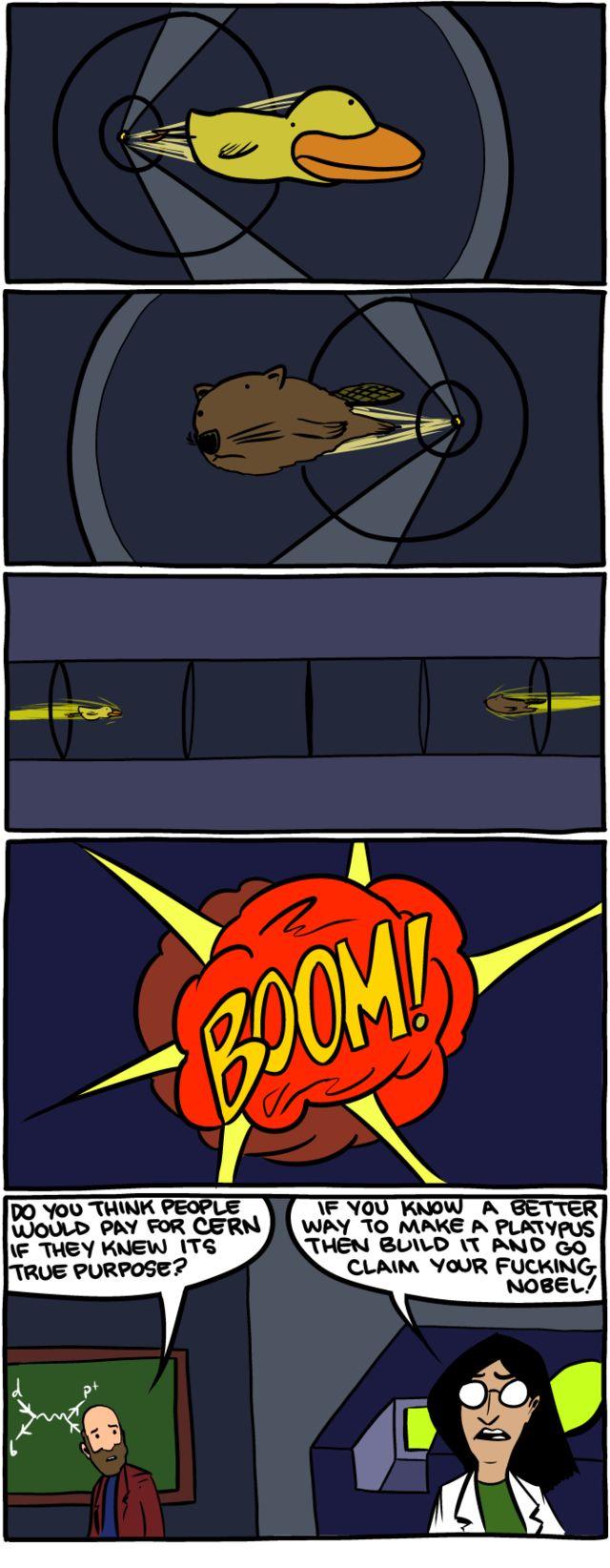 CERN super collider.