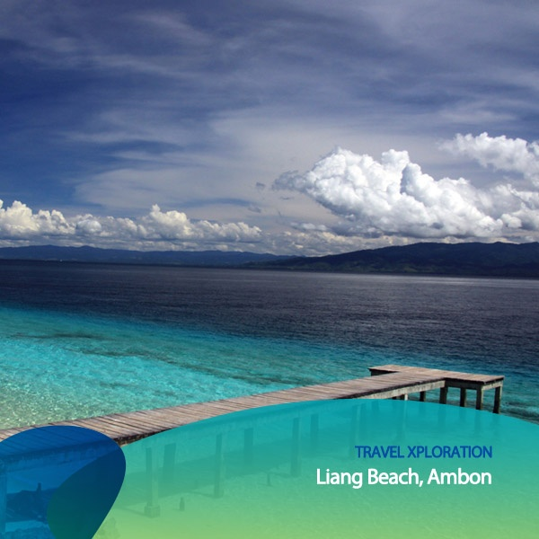 Buat kalian yang doyan travelling, jelas gak boleh melewatkan salah satu tempat yang indah ini. Pantai Liang, yang terletak di pulau Ambon di Indonesia ini menawarkan hamparan pantai biru indigo yang menawan. Pemandangan apik ini memang hanya dapat kamu temui di Ambon. Jadi, siapa yang tertarik berliburan ke Pantai Liang?