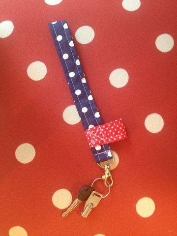 Miss Springs pyssel och knåp: Nyckelband