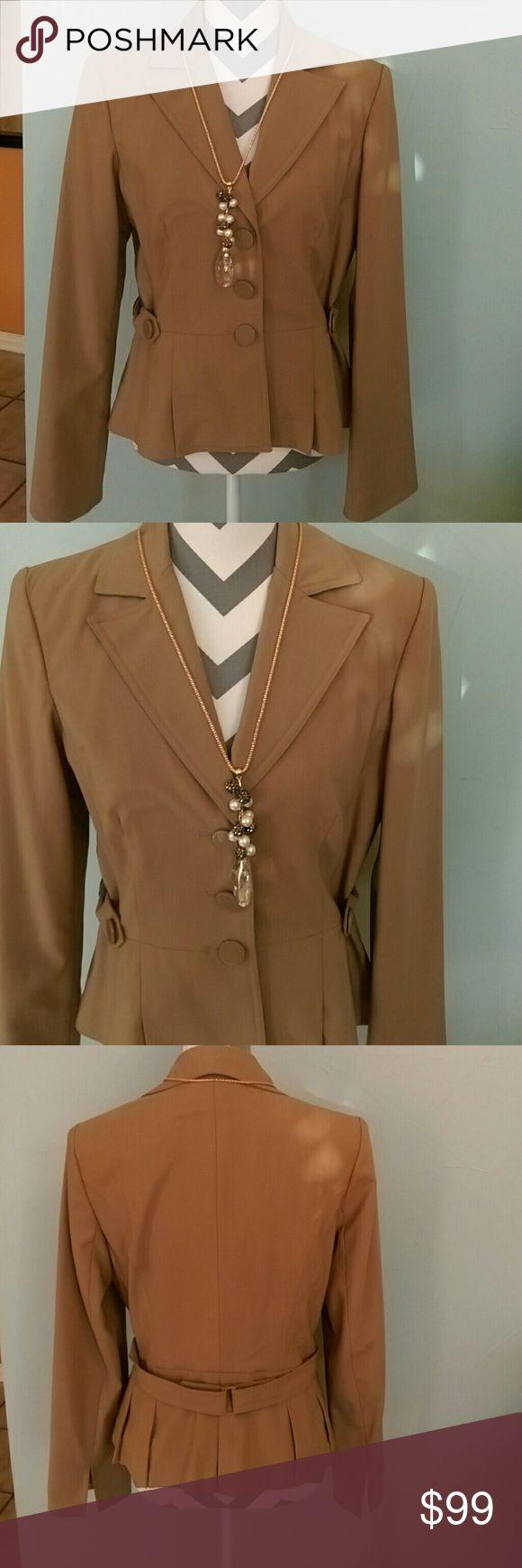 Georgiou Studio Brown blazer Georgiou Studio Brown blazer  Material 57% Polyester 47% Wool 2% Lyra Georgio Studio Jackets & Coats Blazers