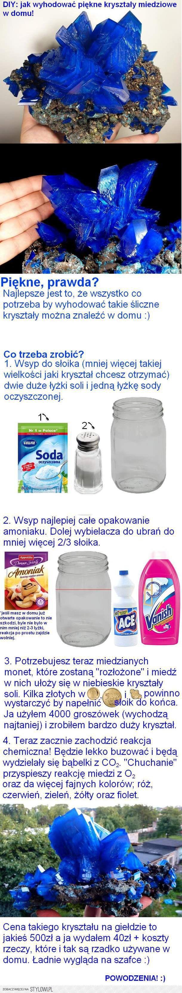 jak zrobić kryształ miedziowy na Stylowi.pl