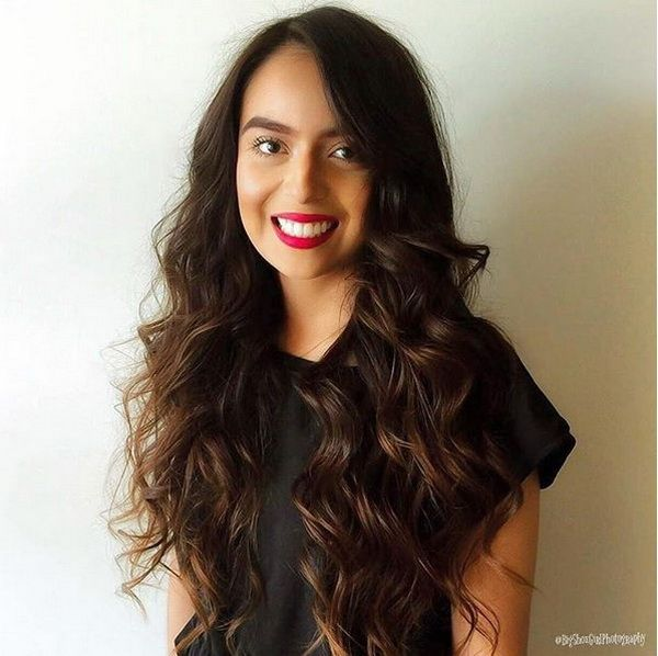 3529 best hairstyles ideas images on pinterest hairstyle ideas volumized long curly dark hairstyles 2018 2019 urmus Image collections