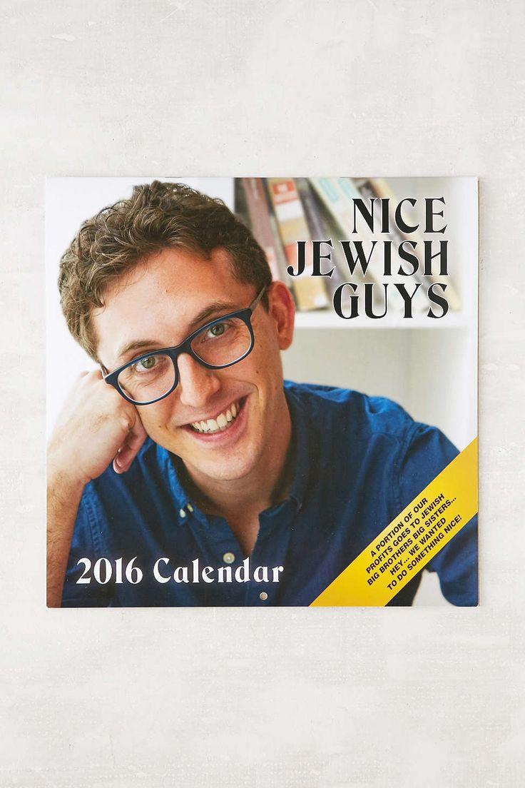 Nice Jewish Guys 2016 Wall Calendar