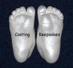 Details About Luna Bean Infant Baby Foot Prints Hand