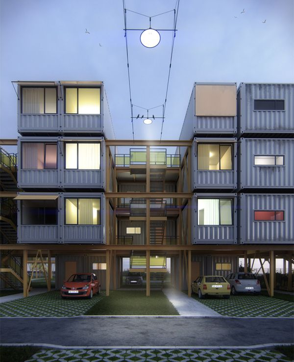 165 best Shipping Container Homes, Hotels, Dorms, Structures images on  Pinterest | Shipping containers, Architecture and Cargo container