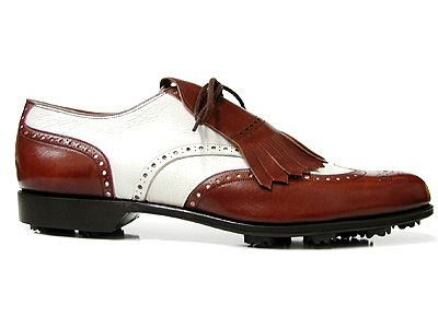 Traditional looking golf shoe with the tassle #golf # ...