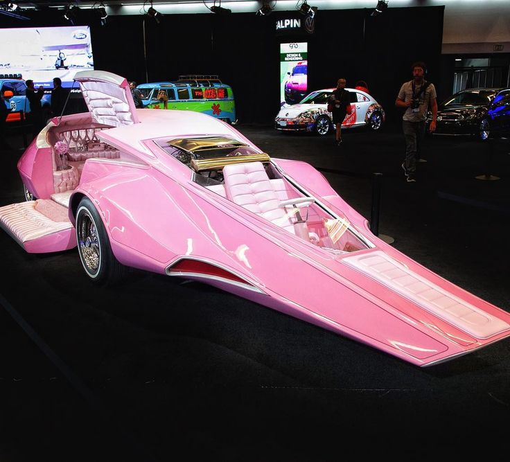 Keep it this weekend. The Pink Panthermobile from 2016's