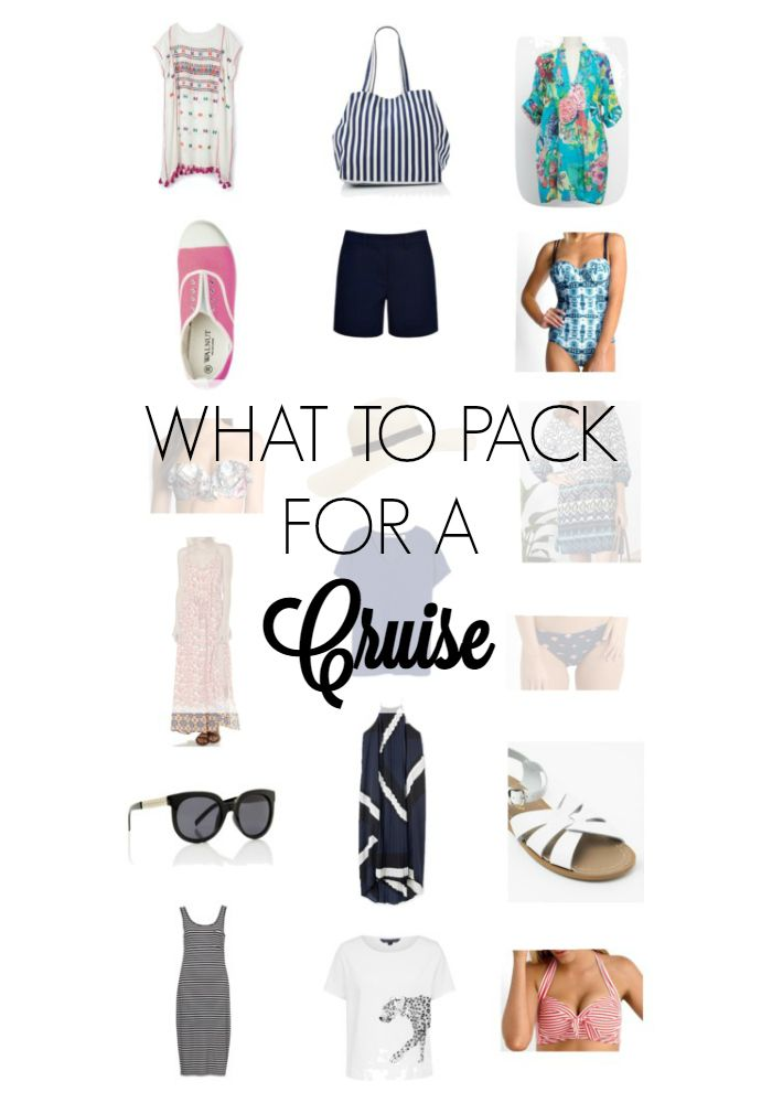 What to pack for a cruise - From swimsuits and coverups to cute sightseeing outfits for shore excursions, and what to wear to dinner #travelstyle #whattopack #cruising
