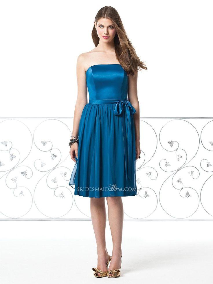 The 33 best blue bridesmaid dresses images on Pinterest   Bridal ...