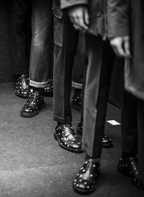 backstage @ dior homme fw14