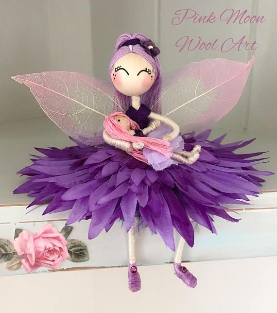 Flower fairy doll Princess fairy ornament miniature fairy